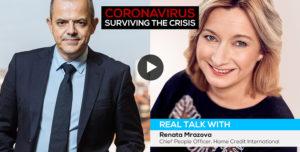 Coronavirus crisis: real talk with…