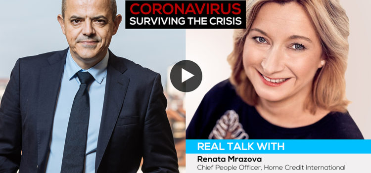 Coronavirus crisis: real talk with…